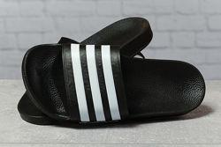 Шлепанцы женские Adidas, черные