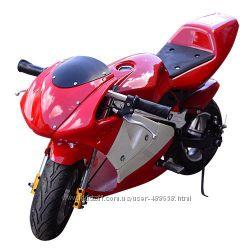 Детский электрический мотоцикл HB-PSB 01-E-3 Profi, красный