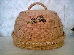 Хлебницы, фруктовницы, конфетницы и т. д. из бумажных  трубочек