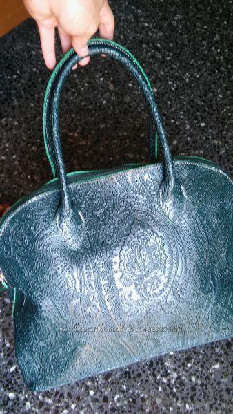 Італія  сумка натуральна шкіра 80 а  made in Italy