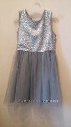 Нарядное платье Carters 5T на новогодние праздники с пайетками