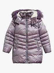 Зимнее пальто, Некст, 7-8 лет