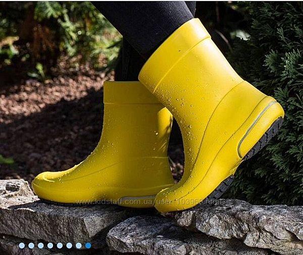 Резиновые сапоги Nordman Kleo с флисовым утеплителем желтые