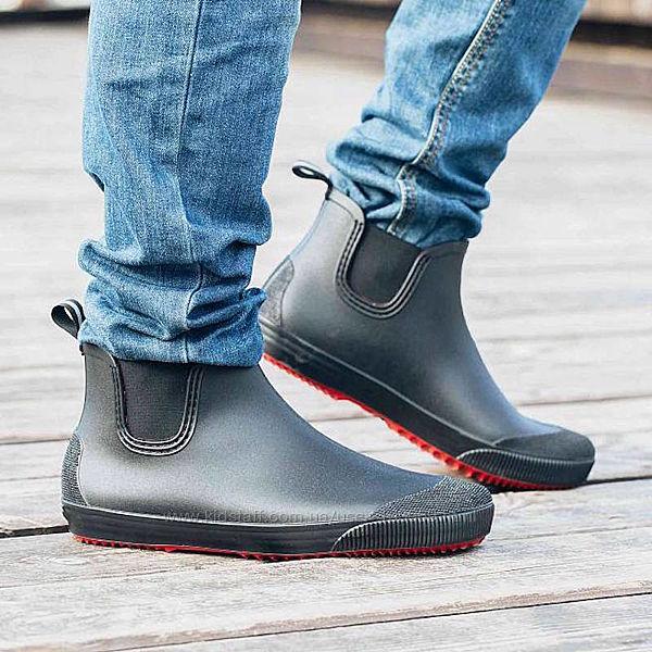 Мужские резиновые ботинки Nordman Beat черные 40-46рр
