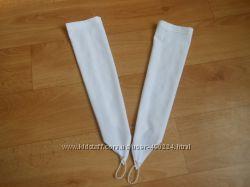 Нарядные перчатки под бальные платья, на выпускной или праздники