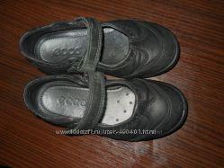 ECCO кожаные туфельки 26размер