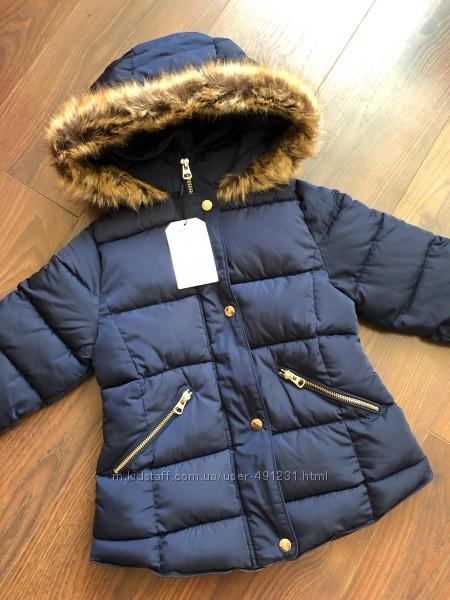 Zara демисезонная куртка 7-8 лет