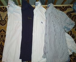 Рубашки короткий/длинный рукав