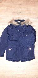 Парка куртка синяя george р. 122-128