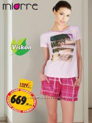 Останній розмір Жіноча літня піжама Miorre Туреччина 07ebc6e17a77e