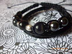 Мужские браслеты шамбала и кожа