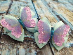 Красивые бантики с бабочками