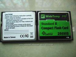 CF Compact Flash Card 256 MB Standart II pq1 флешка карта памяти флешкарта