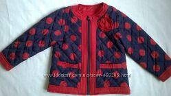 Весенняя куртка от Маталан для модняшки до 105см, бу