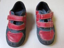 Спортивные туфли на мальчика с мигалками, стелька 16 см