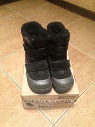 Ботинки зимние GORE TEX ECCO  26 размер