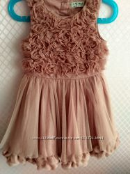 Нарядное платье Next прокат 3-4 года