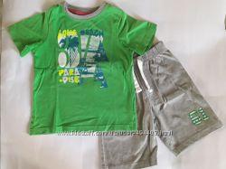 Летний комплект из футболки и шорт Mothercare на 3-4 года