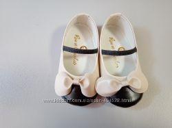 Пинетки туфельки кожаные
