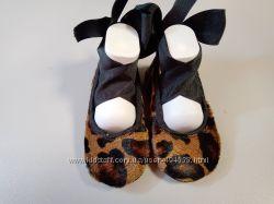 Пинетки кожаные туфельки для девочки