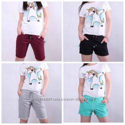 Молодежные женские бриджи и шорты размеры 46, 48, 50, 52, 54, 56