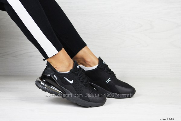 кроссовки Nike Air Max 270 черные, найк