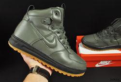 ботинки Nike Lunar Force 1 арт 20665 зимние, найк, хаки
