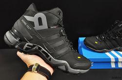 ботинки Adidas Terrex 465 арт 20670 зимние, мужские, черные
