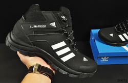 ботинки Adidas Climaproof арт 20673 зимние, мужские, черные
