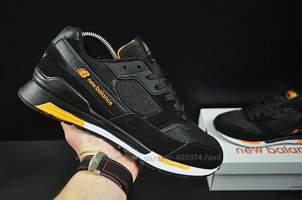 кроссовки New Balance арт 20692 мужские, черные