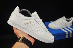 кроссовки adidas Gazelle арт 20732 белые, адидас