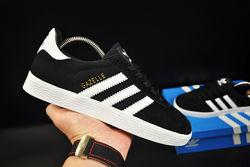 кроссовки adidas Gazelle арт 20733 черные, адидас