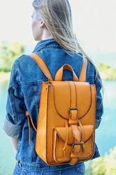 Кожаный рюкзак. 11 цветов кожи
