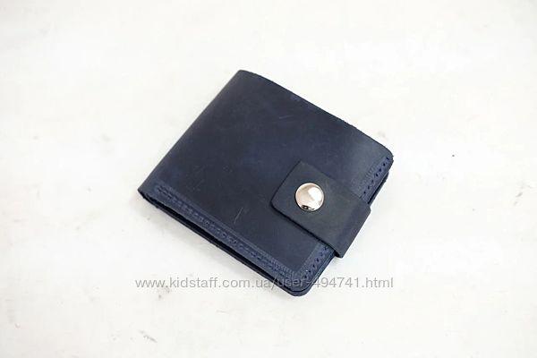 Классическое мужское портмоне с карманом для мелочи