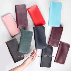 Женский кожаный кошелек Ультра. Огромный выбор кожи и цвета.