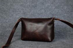 Кожаные сумки кроссбоди. Разные цвета