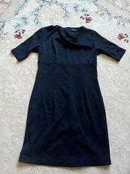 Класична чорна сукня sela