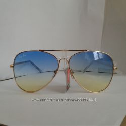 Круглые и квадратные очки хаки, синие, золото.