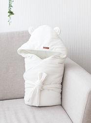 Демисезонный велюровый конверт-одеяло Velvet