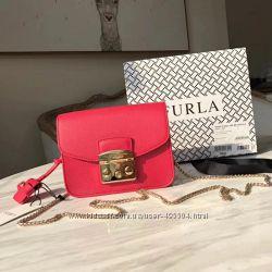 Furla Metropolis mini Crossbody сумка кожа люкс