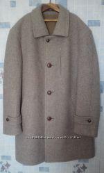 пальто мужское унисекс, шерсть, размер 50-52
