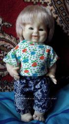 Кукла Schildkr&oumlt - черепашка в ромбе, 40 см