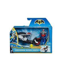 Бэтмен с мотоциклом чопер
