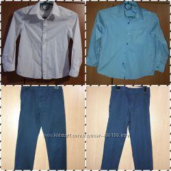 Рубашки, брюки M&S, Next, George 6-7лет, рост 116-122