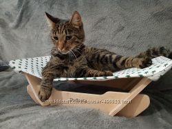 Мебель для котов. Лежак для кошек. Гамак. Кошачьи полки