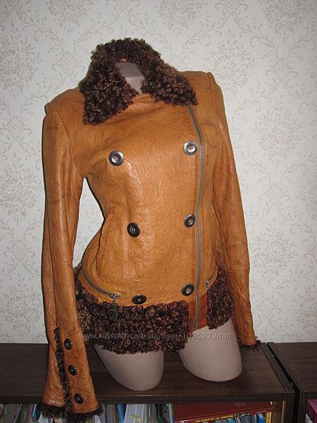 Куртка - косуха кожаная, р. S-M