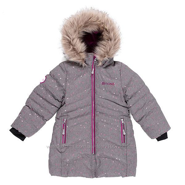 Пальто для девочки  Нано Пелюш Канада в наличии