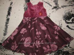 Нарядное платье Next, 9-12 мес