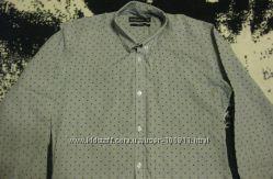 Рубашка Cedar Wood State, Slim Fit, 37 см, 14, 5