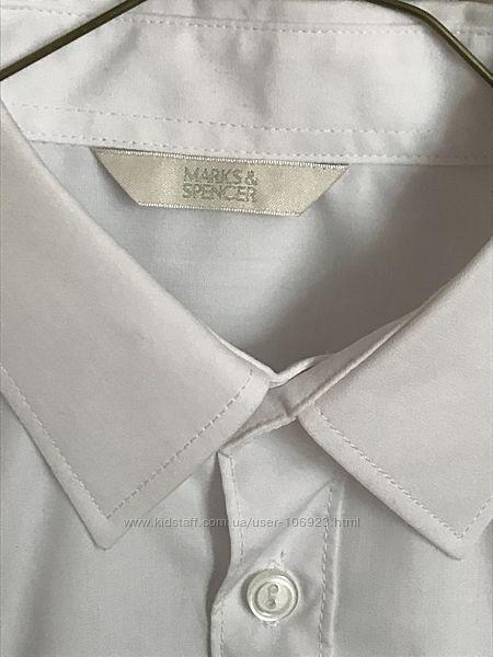Рубашка с длинным рукавом Mark&Spencer в школу